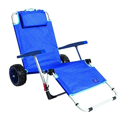 Mac Sports 2-in-1 Beach Folding Lounge Chair for elderly