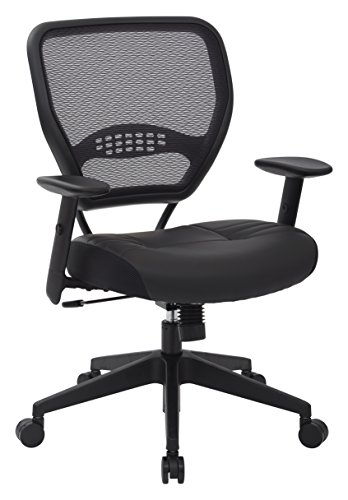 AirGrid Eco Leather Seat Base Managers Chair