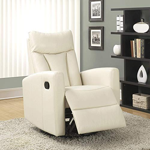 Monarch Specialties (white) Recliner chair