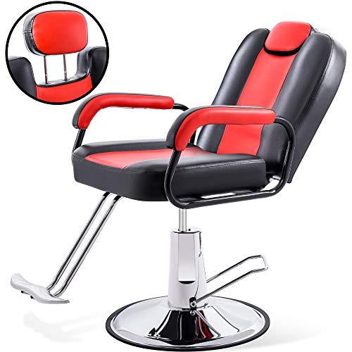 Merax Hydraulic Recliner Barber Chair for Hair Salon