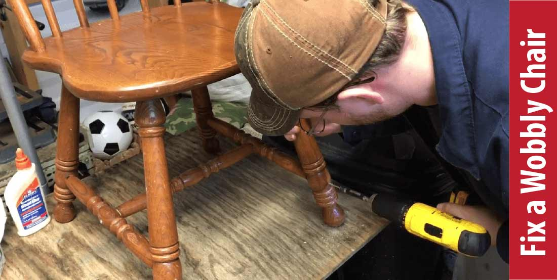 How To Fix A Wobbly Chair