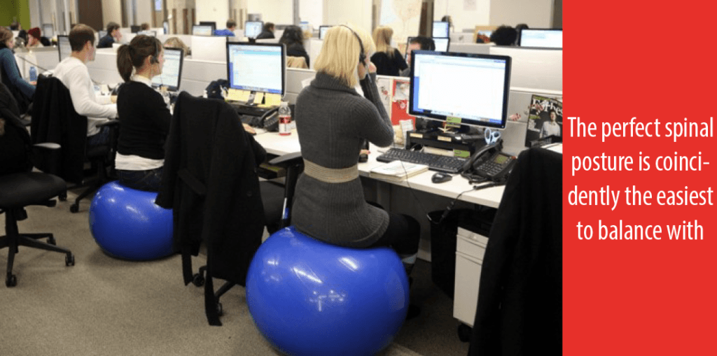 Reasons To Do An Exercise Ball As Your Chair