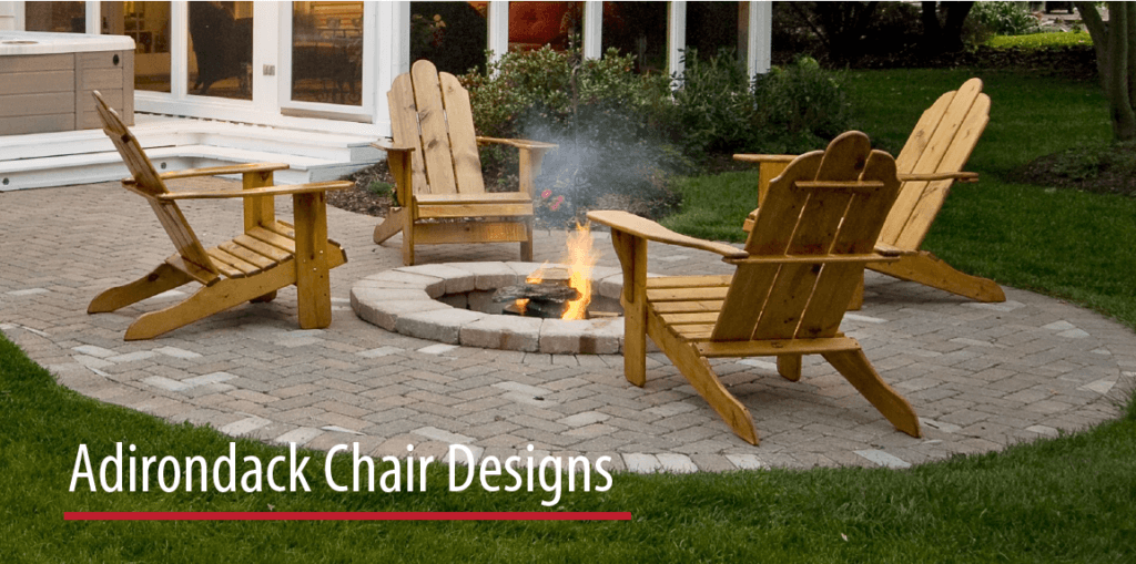 At The End Adirondack Chair Designs