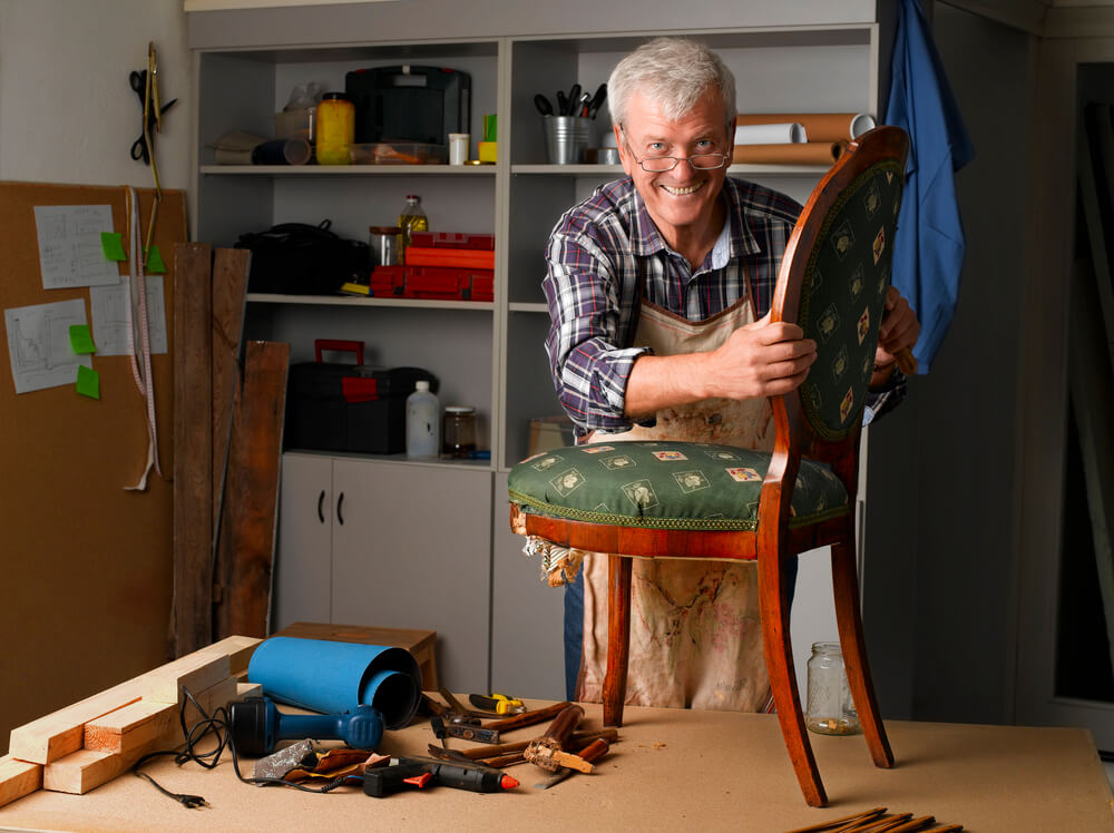 Repair A Wooden Chair Back