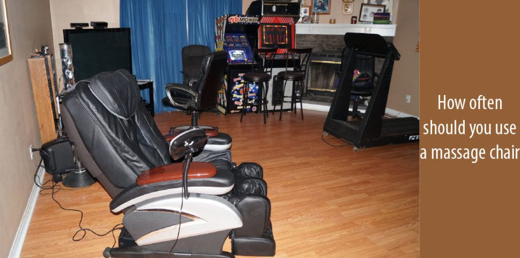 So How Often Should You Use A Massage Chair?