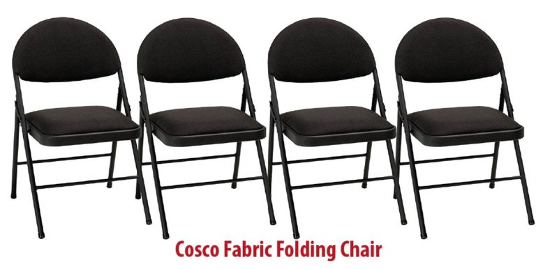 Cosco Fabric 4 Pack Folding Chair