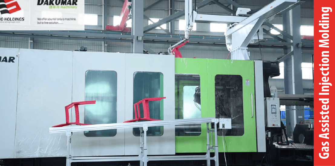Gas Assisted Injection Molding
