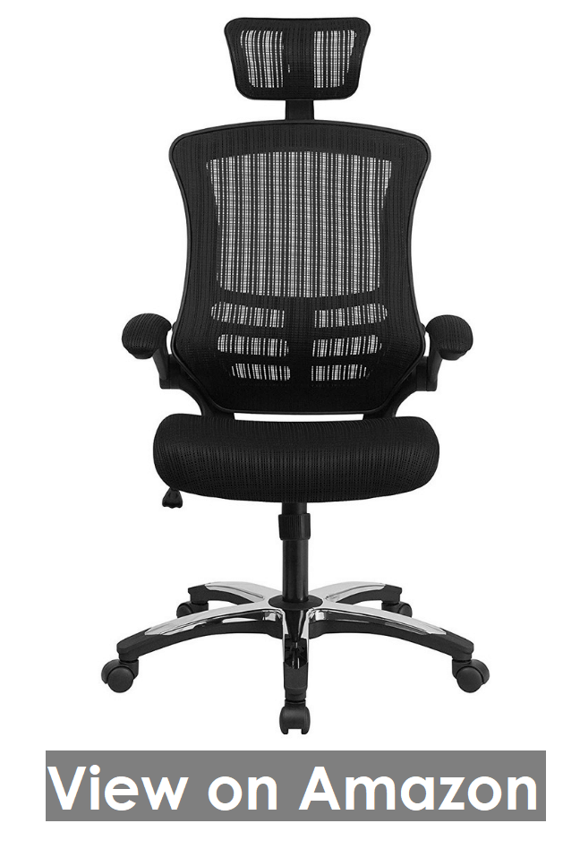 High Back Black Mesh Executive Swivel Chair