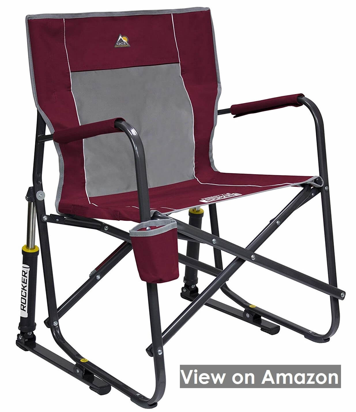 GCI Outdoor Portable Folding Rocking Chair