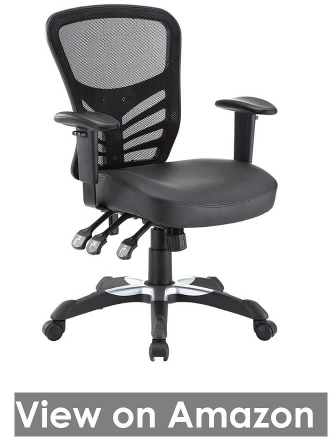 Modway Articulate Vinyl Office Chair
