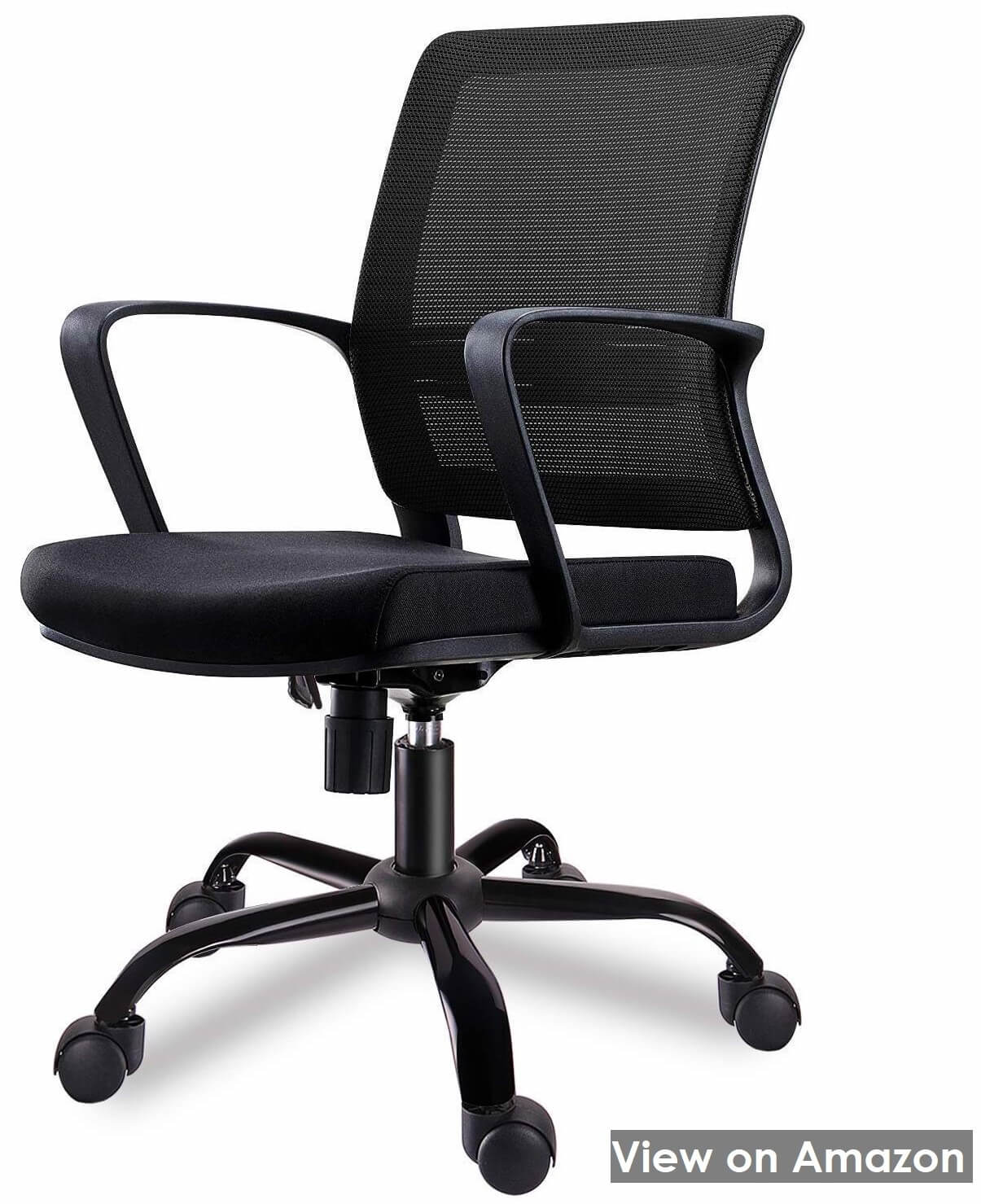 Smugdesk Mid-Back Big Ergonomic Office Chair