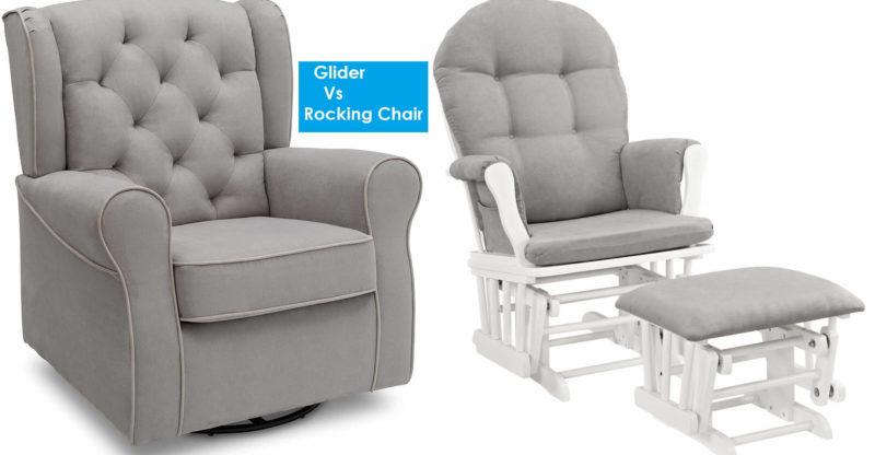 Glider Vs Rocking Chairs