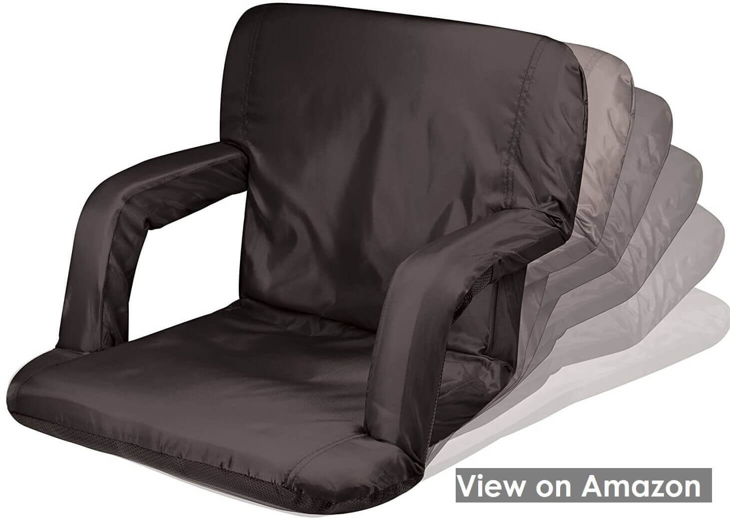 Portable Ventura Reclining Stadium Seat for Bleachers
