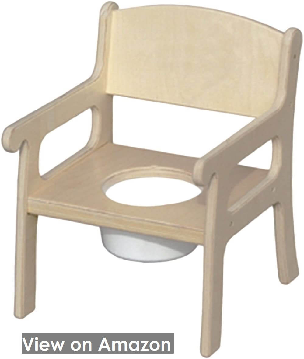 Little Colorado Personalized Natural Potty Chairs