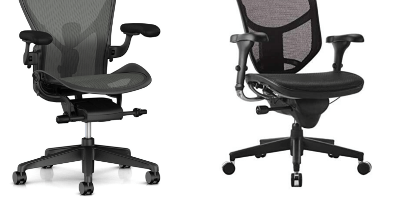 Workpro Quantum 9000 vs Aeron